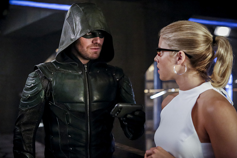 Arrow and Felicity