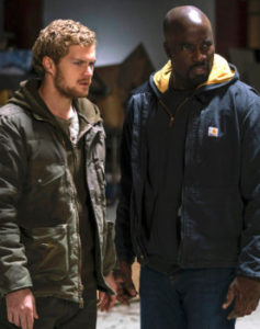 Danny Rand (Iron Fist) and Luke Cage (Power Man)