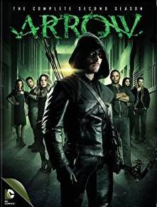 Arrow Season 2 DVD cover