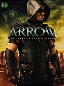 Arrow Season 4 DVD cover