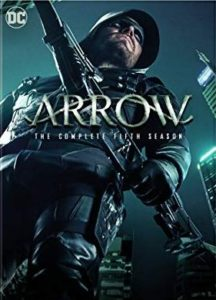 Arrow Season 5 DVD cover