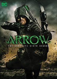 Arrow Season 6 DVD cover