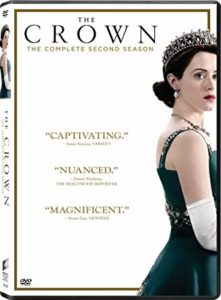 The Crown Season 2 DVD cover
