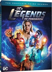 DC's Legends of Tomorrow Season 3 DVD cover