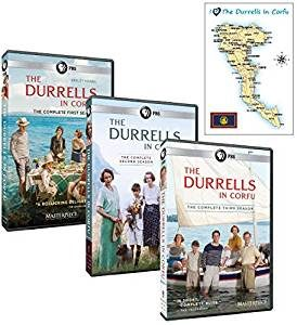 The Durrells in Corfu – Complete Seasons 1-3 DVD Set