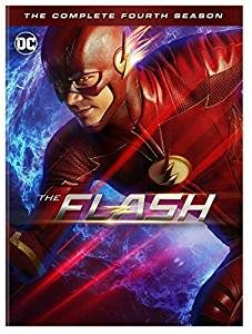 The Flash Season 4 DVD cover