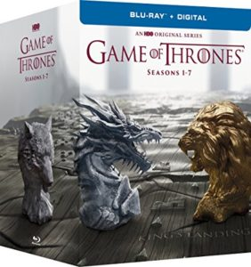 Game of Thrones Season 1-7 DVD cover
