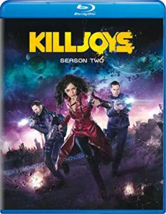 Killjoys Season 2 Blu-ray DVD cover