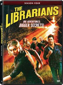 The Librarians Season 4 DVD cover