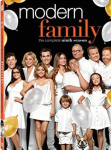 Modern Family Season 9 DVD cover
