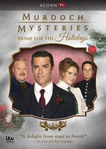 Murdoch Mysteries: Home For the Holidays DVD cover
