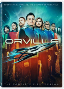 The Orville Season One DVD cover