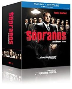 The Sopranos: The Complete Series Blu-Ray cover