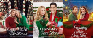 some of the Hallmark Christmas movies I saw