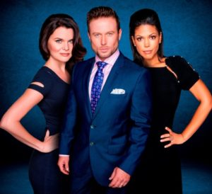 Bold and Beautiful's Heather Tom, Jacob Young  and Karla Mosley (Katie, Rick and Maya)and