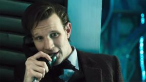 11th Doctor on phone
