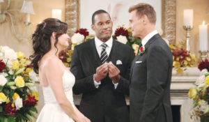 Thorne and Katie's wedding on Bold and Beautiful