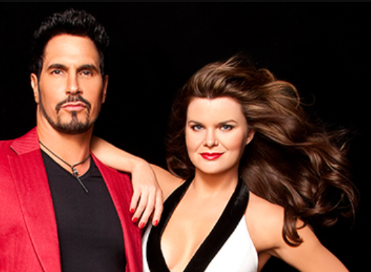 Bill and Katie on Bold and the Beautiful