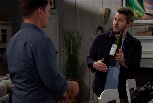 Bold and Beautiful 5/9/19 Liam brings Wyatt gifts from Paris