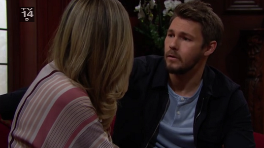 Liam and Hope on Bold and Beautiful 5/13/19