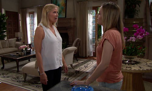 Brooke and Hope The Bold and The Beautiful 5/2419