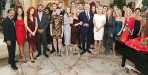 Bold and Beautiful cast at Christmas