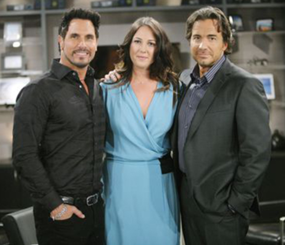 Bill, Ridge and Alison of Bold and the Beautiful