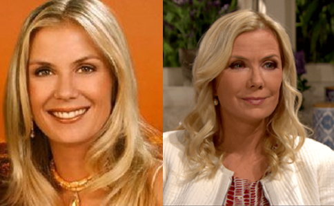 Brooke played by Katherine Kelly Lang