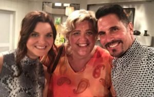 Andrea with Don Diamont and Heather Tom