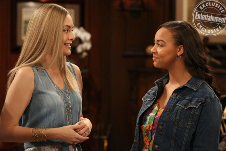 Emma and Hope of Bold and the Beautiful