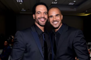 Kristoff and Shemar - tribute at Daytime Emmys