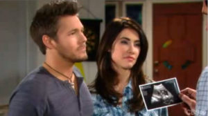 Liam and Steffy on Bold and the Beautiful