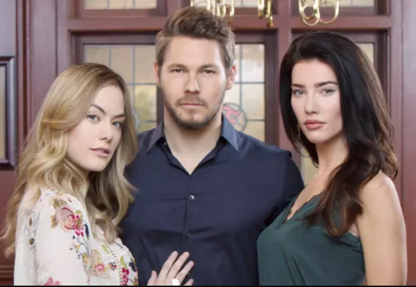 Liam, Hope and Steffy on The Bold and the Beautiful