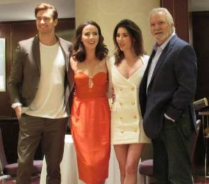 Nikky's pic of Thomas, Ivy, Steffy and Eric