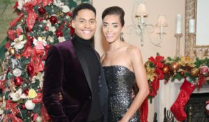 Xander and Zoe at Christmas on Bold and the Beautiful
