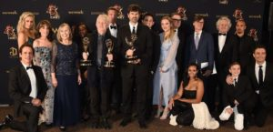 Y&R cast at Daytime Emmys