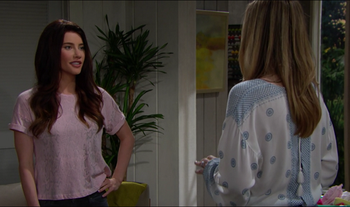 Steffy and Hope on The Bold and The Beautiful 5/30/19