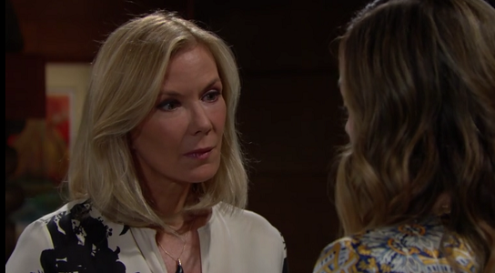 Brooke and Hope on The Bold and The Beautiful 6/4/19