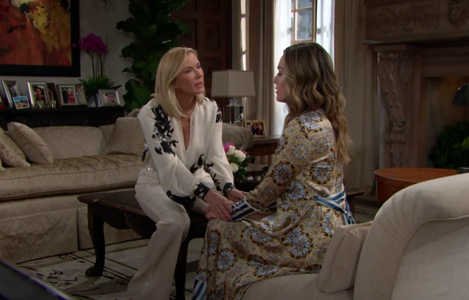 Brooke and Hope on The Bold and The Beautiful 6/6/19