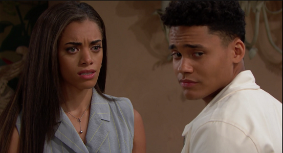 Zoe and Xander The Bold and The Beautiful 6/12/19