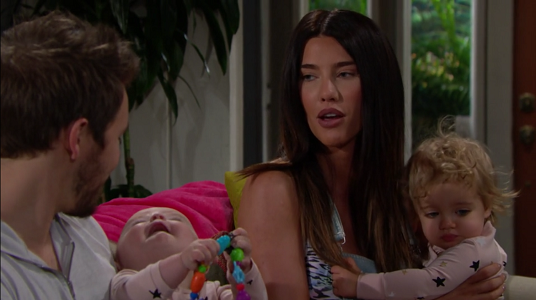 Steffy and Liam on The Bold and The Beautiful June 17, 2019