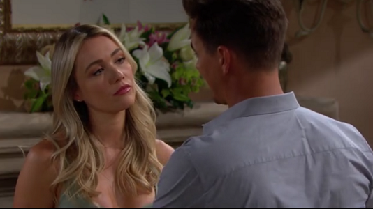 Flo and Wyatt on The Bold and The Beautiful June 18, 2019