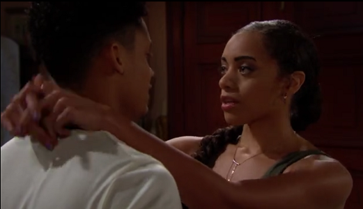 Zoe and Xander The Bold and The Beautiful 7/5/19