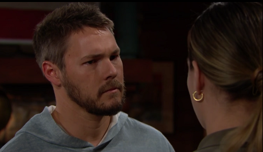 Liam and Hope on The Bold and The Beautiful 7/10/19