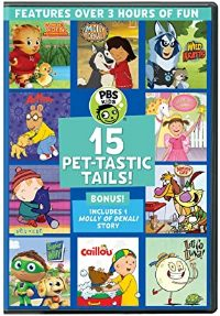 PBS Kids: 15 Pet-Tastic Tails! DVD cover