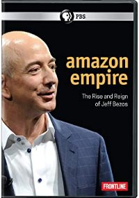 FRONTLINE: Amazon Empire: The Rise and Reign of Jeff Bezos DVD cover