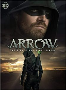 Arrow: The Eighth and Final Season DVD cover