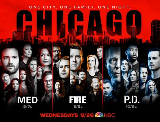 Chicago Med, Chicago Fire and Chicago PD