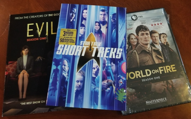 3 of my newer DVDs