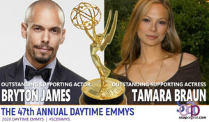 Bryton James and Tamara Braun
